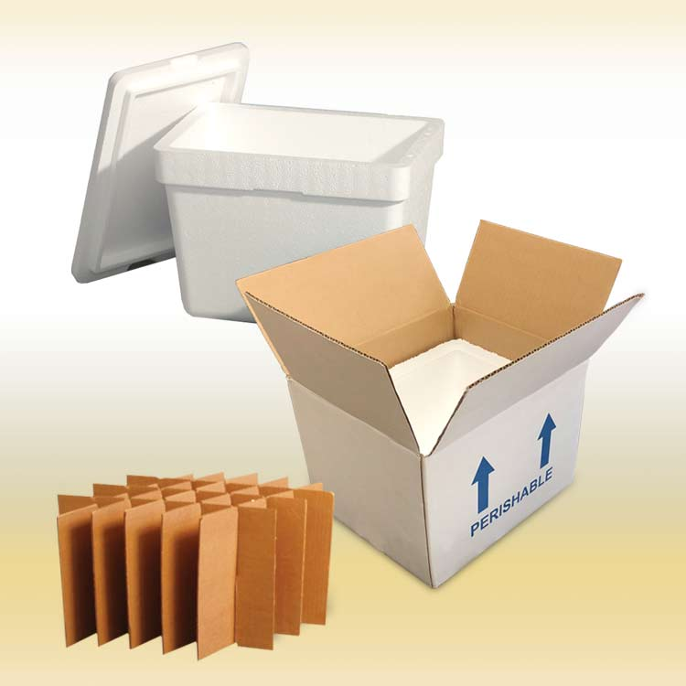 EPS Insulated Foam with Corrugated Boxes