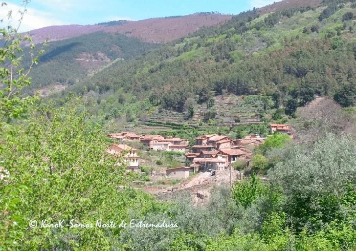 Fotografía panorámica de este bello municipio del norte de Extremadura