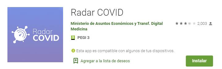 La aplicación 'Radar covid' ya está activa en Extremadura