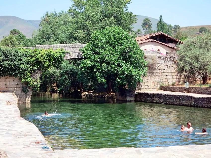 Sierra de Gata piscinas naturales