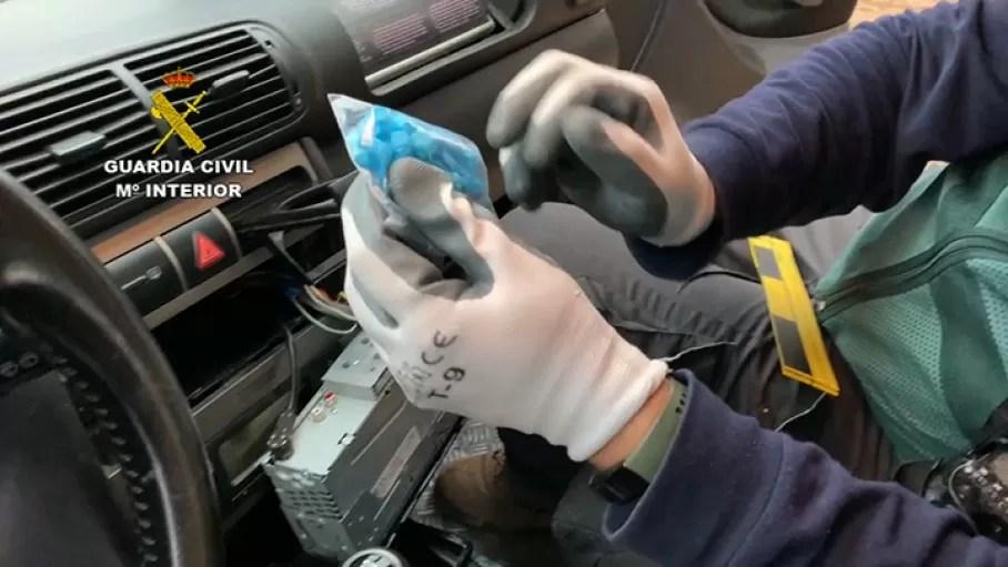 desmantela cinco puntos de venta de droga en Logrosán
