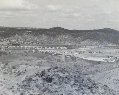 El puente sobre el Tajo de Eiffel en Extremadura