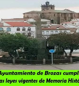El Ayuntamiento de Brozas cumplirá con las leyes vigentes