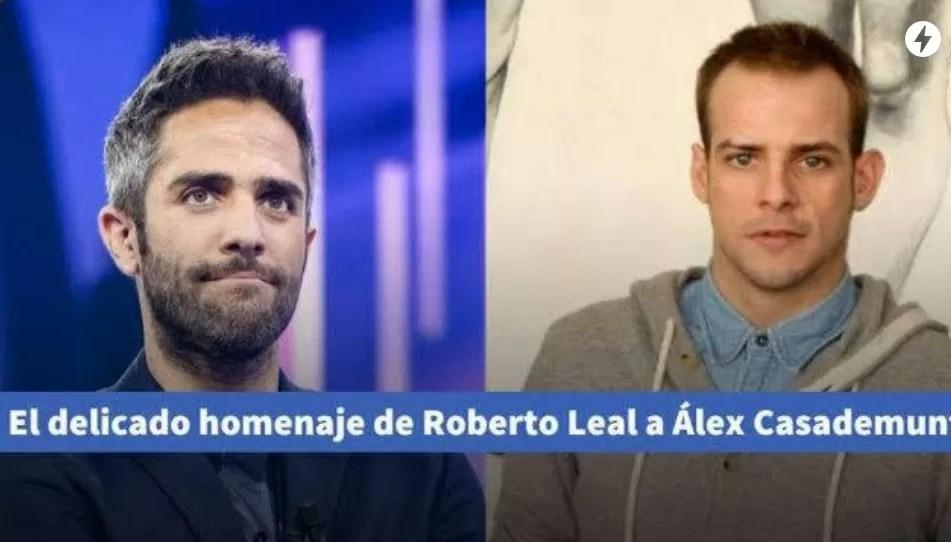 El delicado homenaje de Roberto Leal a Álex Casademunt