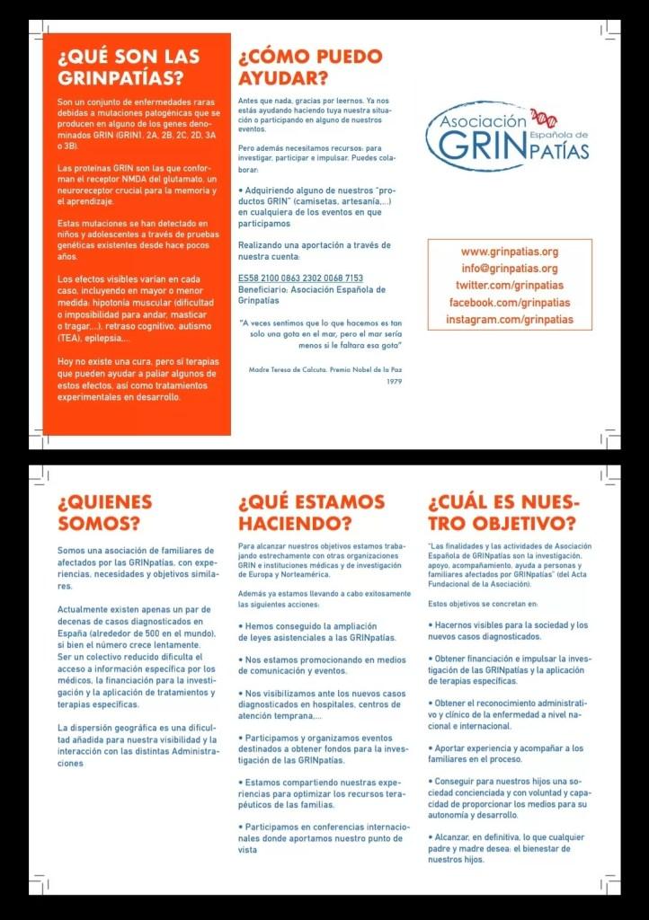 Ayuda a Almudena Morientes en la campaña de GRINpatias