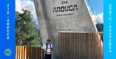 """Puente peatonal de """"516 AROUCA"""" el más largo del mundo"""