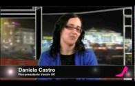 1 – 0 p'ra Elas: Daniela Castro