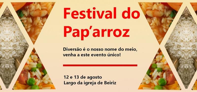 Pap'Arroz: Festival gastronómico em Beiriz no fim de semana