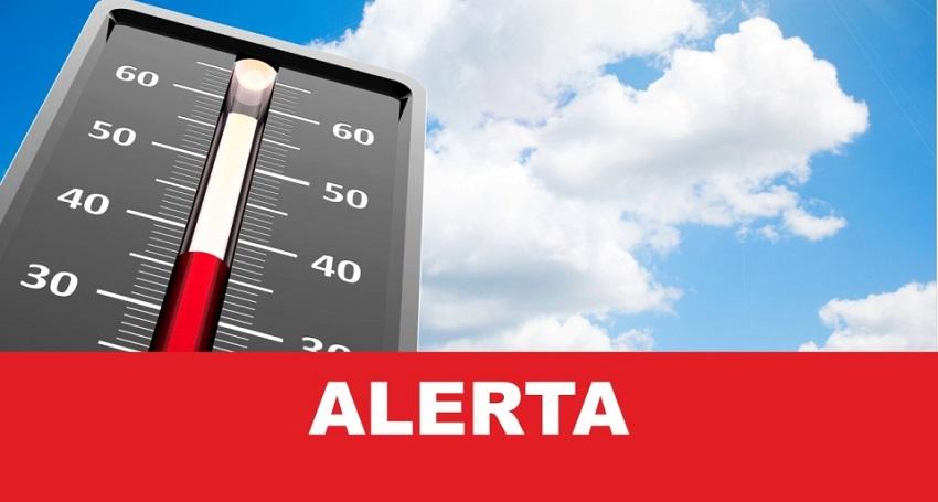 Alerta Máximo para calor