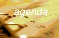 Agenda: Sexta, 1 Novembro