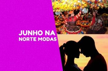 Está chegando o mês de Junho; mês de festas juninas e dos namorados