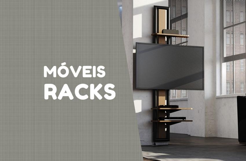 Os melhores Racks/Home Theaters para sua casa