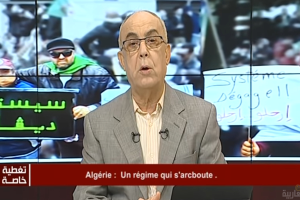 French satellite operator Eutelsat suspends Al Magharibia TV per order of Algerian authorities, say opponents