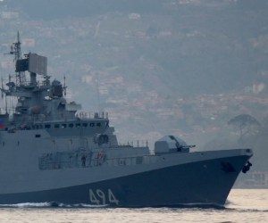 Libya: French warship intercepts oil tanker off the coast of Libya