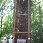 Middle School Takes On Triple C Challenge Course