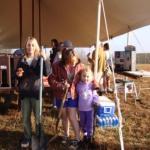 NBS Students, Teachers, and Parents Help Plant Riparian Buffer