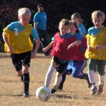 The Primary and Junior team plays a soccer game!