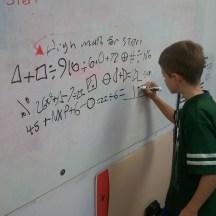 Having fun with higher math