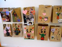 Primary One's bags