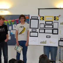 Honorable mention, a project on reaction times