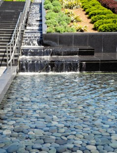 The amazing water stairs