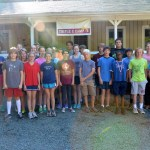 Middle School visits Triple C Camp