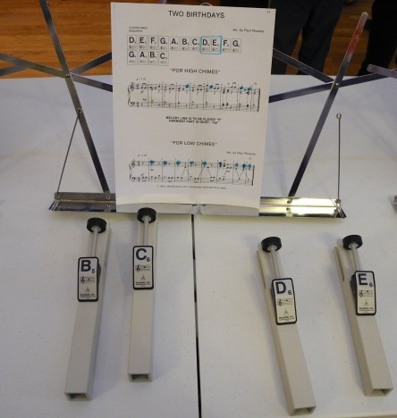 The new hand chimes