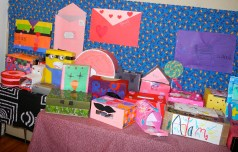 Juniors Valentine boxes