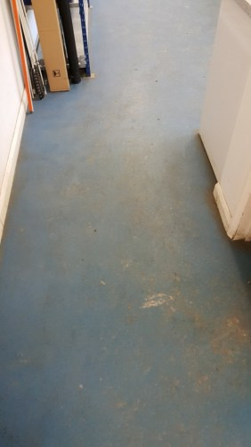 Farm Office Safety Flooring Before Cleaning Saffron Walden