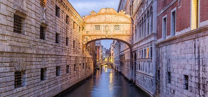 романтические места в Венеции