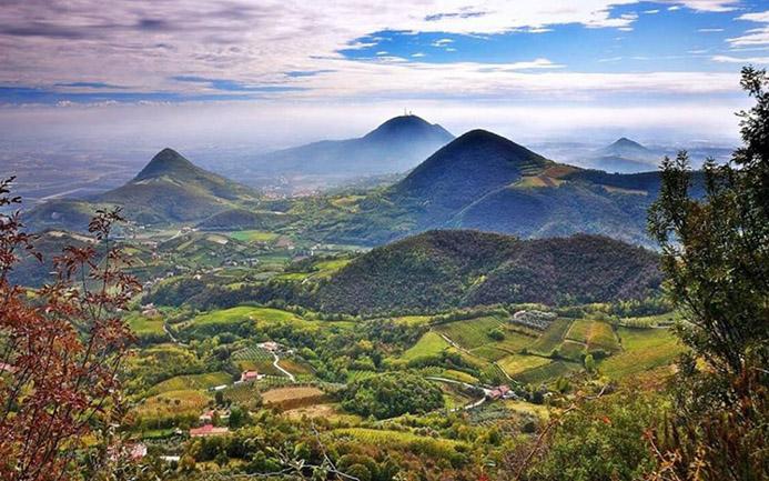 термальные источники в Италии Национальный парк Холмы Эугании (Colli Euganei) Spa Euganei di Abano