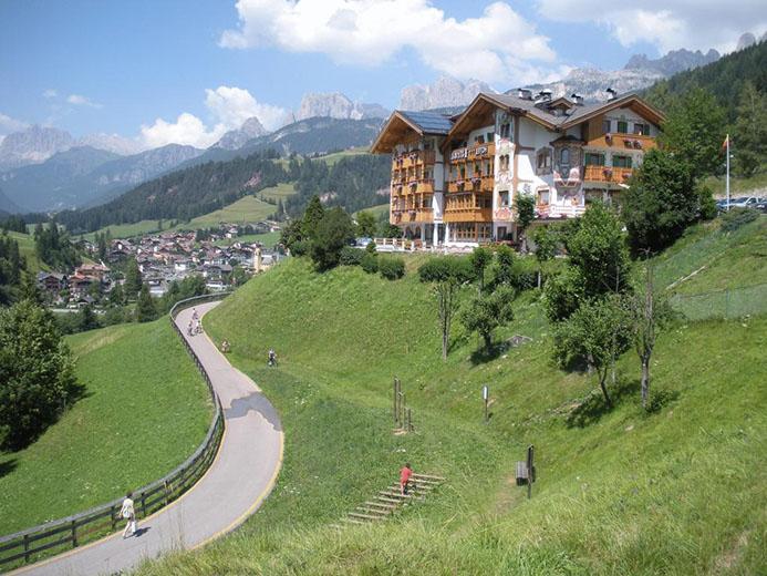 путешествие с детьми в горах Италии