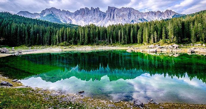 необычные достопримечательности в горах Италии