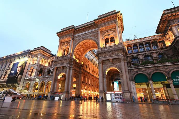 готовый маршрут в Милан