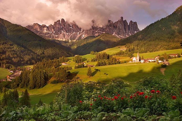 места которые стоит посетить в Доломитовых альпах Италии