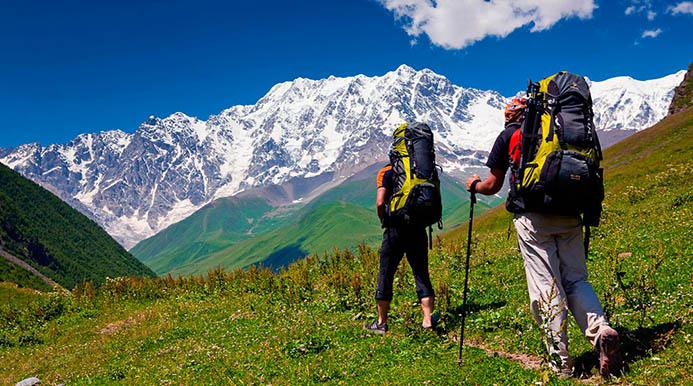 трекинг в Альпах Италии