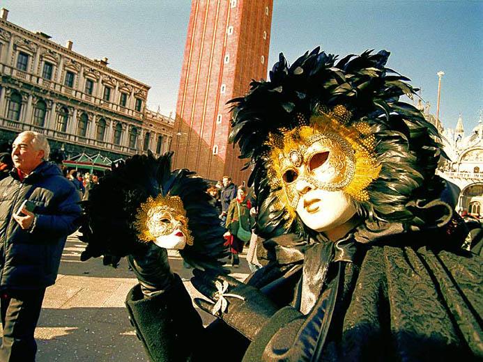 когда венецианский карнавал в Венеции