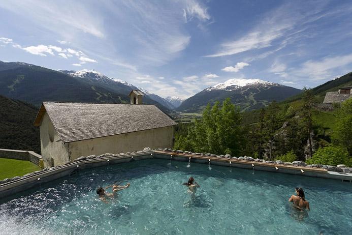 термальные источники в Италии Старые бани Бормио