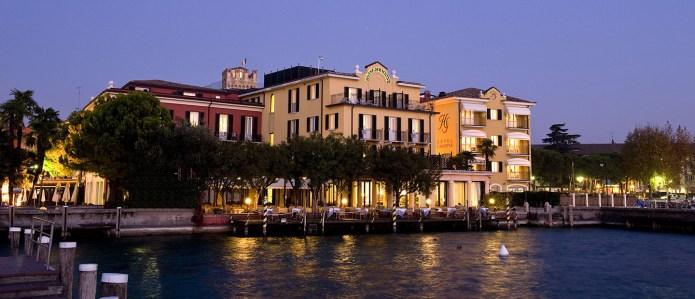 Hotel Sirmione e Promessi Sposi термальные источники в Италии Сирмионе