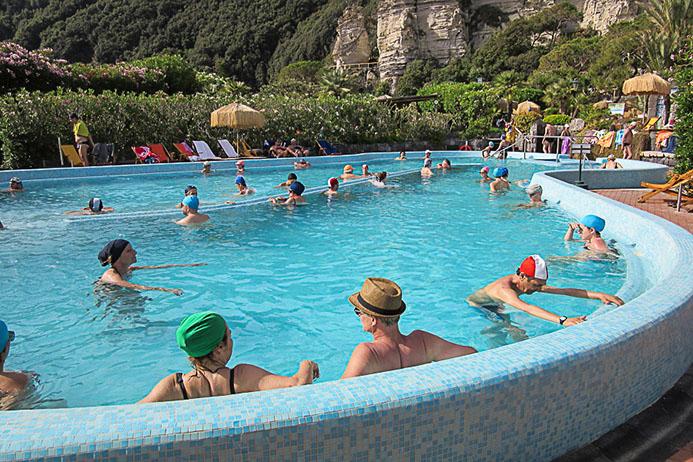 термальные парки в Италии Термальный парк Сады Посейдона