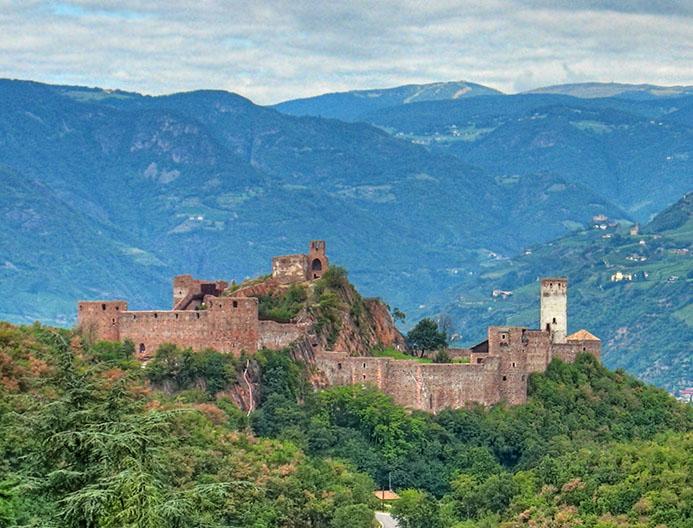 готовый маршрут в Альпах Италии