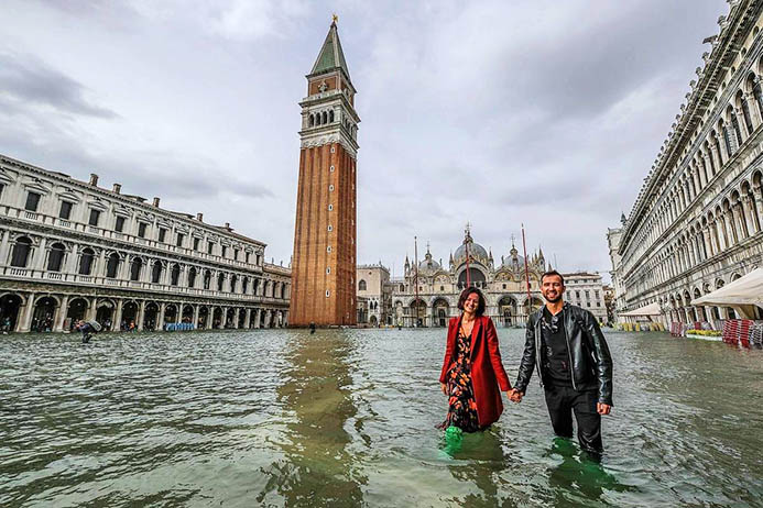 погода в Венеции осенью