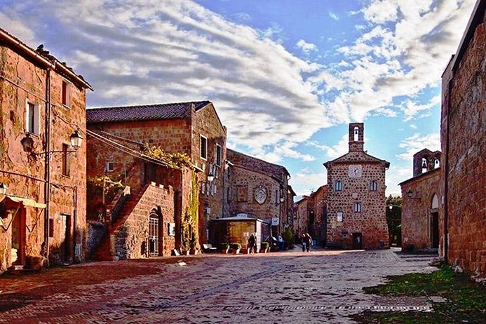 готовый маршрут в Италии Тоскана Сована