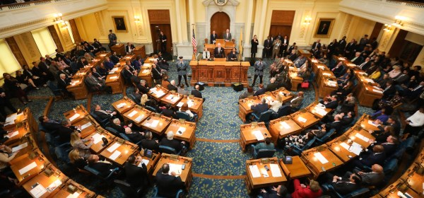 Governor Phil Murphy delivers his Fiscal Year 2021 Budget Address in Trenton on February 25, 2020 (Edwin J. Torres for Governor's Office).