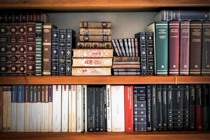 book shelves book stack bookcase books