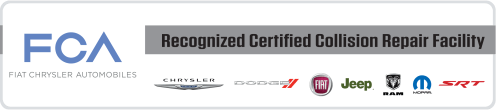 Fiat Dodge Chrysler Jeep Certified Auto Body and Collision Repair
