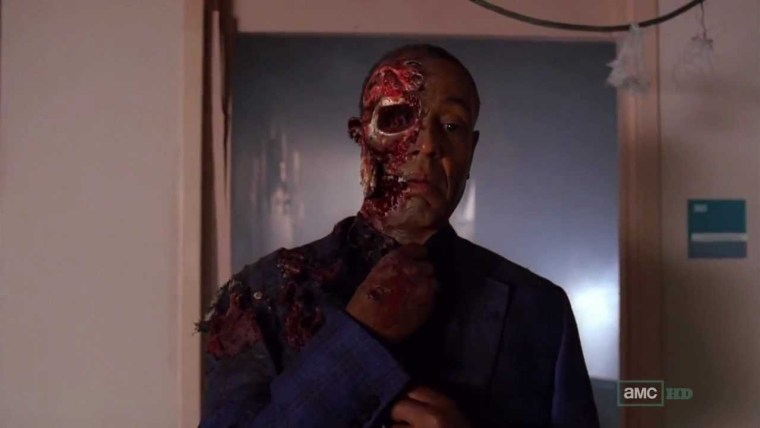 Gus Fring (Giancarlo Esposito) came out looking like a worse version of Harvey Dent