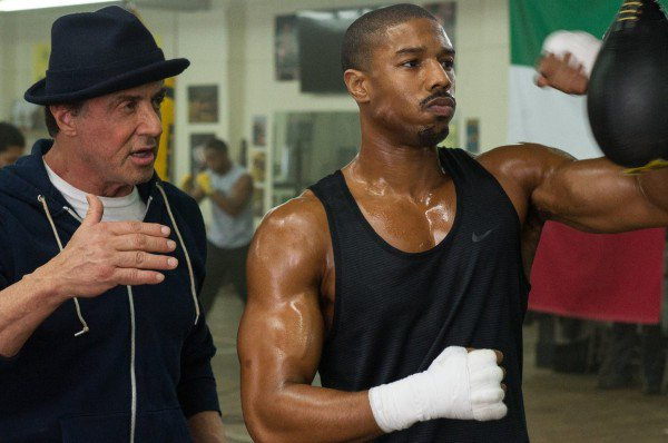 Rocky Balboa (Stallone) & Donnie Creed (Jordan)