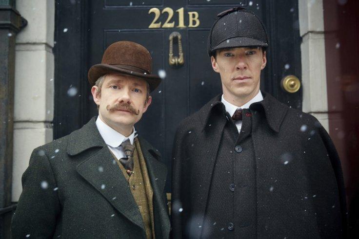 John Watson (Freeman) and Sherlock Holmes (Cumberbatch)