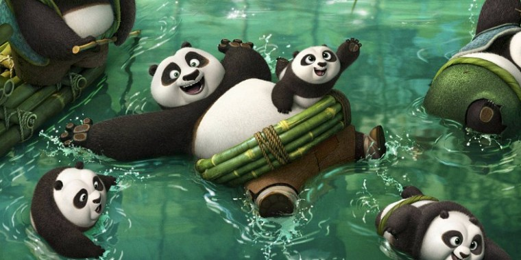 Being a panda is basically being on a permanent vacation
